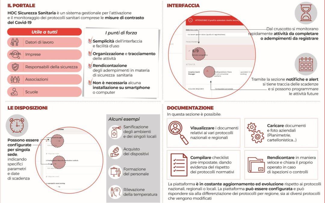 Sicurezza Sanitaria, un nuovo Tool per gli adempimenti