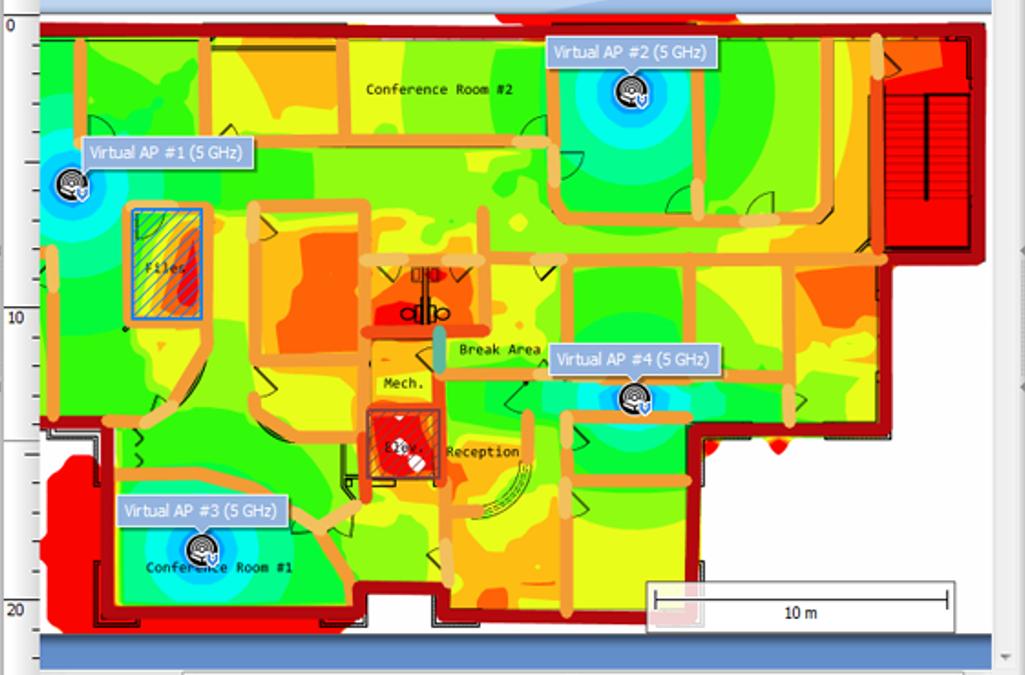 Analisi Rete Wifi ovvero, il Wi-Fi Survey